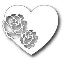 Tutti Designs Two Rose HeartCutting Die TUTTI-426