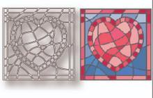 Tutti Designs Heart Stained Glass Cutting Die TUTTI-439