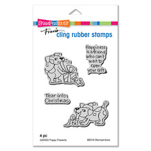 Stampendous Die and Stamp Set Bundle- Puppy Presents