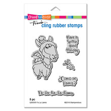 Stampendous Die and Stamp Set Bundle- Fa La Llama