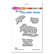 Stampendous Die and Stamp Set Bundle- Manger Sheep