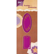 Joy Crafts Cut and Emboss Die, Tags