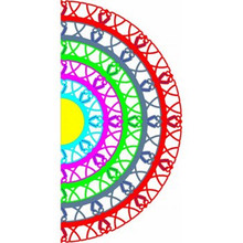 Cheery Lynn Designs Circle Lace Mega Doily Die DL188
