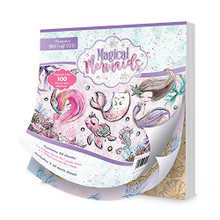 Hunkydory Magical Mermaids Mirri Magic Craft Stack Paper Pack MSTACK102