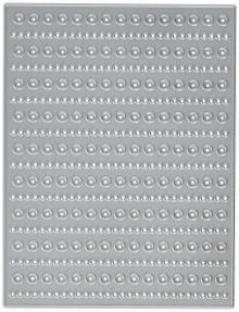 Die-Versions Whispers Background Die Cuts, 4 by 5.25-Inch, Circles