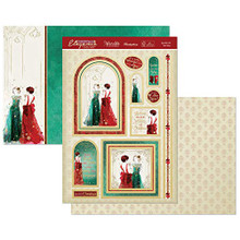 Hunkydory Christmas Elegance- Sparkle All The Way 3-pc Topper Collection