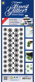 JeJe Double-SIded Adhesive Stickers Flowerss Sheet 4-0343