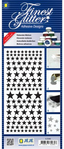 JeJe Double-Sided Adhesive Stickers Stars Sheet 4-03456