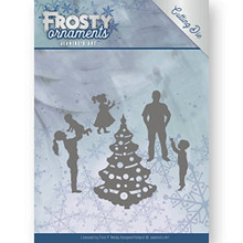 Jeanine's Art - Frosty Ornaments - Happy Family Cutting Die JAD10047