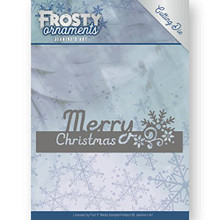 Jeanine's Art - Frosty Ornaments - Text Merry Christmas Cutting Die JAD10045