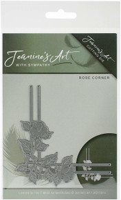 Jeanine's Art - With Sympathy - Rose Corner Cutting Die JAD10014