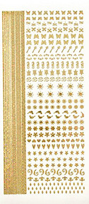 HOTP Dazzles Nail Art Stickers Holographic 2611