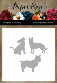 Paper Rose Dies-Three Little Dogs