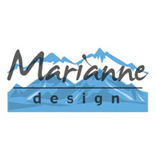 Marianne Design Creatables Horizon Snowy Mountains Die