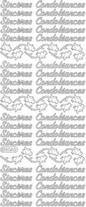Starform Deco-Stickers-Sinceres Condoleances-S