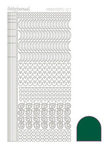 Find It Trading Hobbydots Sticker Style 17- Green