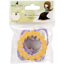 Santoro Kori Kumi Laser-Cut Wooden Shapes (8 Pc)