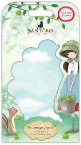 Santoro Kori Kumi Decoupage Paper (3 Pc)