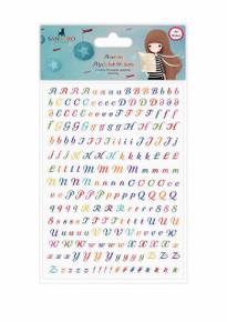 Santoro Kori Kumi II Acetate Alpha Stickers