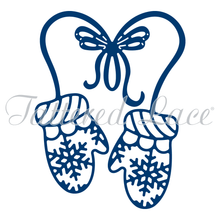 Tattered Lace Mittens Cutting Die D1373