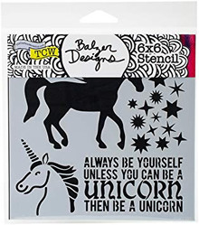 Crafters Workshop TCW738S Template 6'X6'-Unicorn