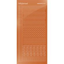 Find It Trading Hobbydots sticker - Mirror - Copper STYLE 17