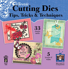 Special Purchase HOTP Teresa's Cutting Dies Tips, Tricks & Techniques Computer DVD in White Sleeve