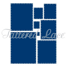 Tattered Lace Antique Lace Essential Rectangle Cutting Die, 454347