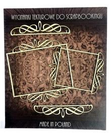 Filigranki Laser Cut Decorative Chipboards for Handicraft- Frames & Lines