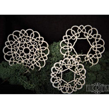 Filigranki Laser Cut Decorative Chipboards for Handicraft- Lace Panels