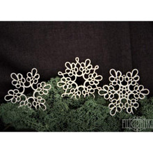 Filigranki Laser Cut Decorative Chipboards for Handicraft- Lace Doily