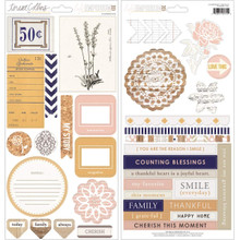 Life Emporium Adhesive Chipboard 12'X6' Sheets 2/Pkg-Elements
