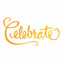 Artdeco Creations Ultimate Crafts Classic Sentiments Hotfoil Plate 2.9'X1.5'-Celebrate