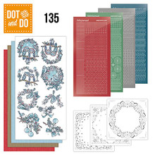 Dot and Do Christmas Dreams DODO135 Hobbydots Card Set