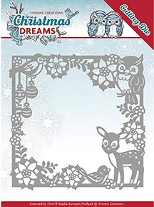 Yvonne Creations Christmas Dreams Christmas Animal Die