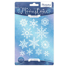 Hunkydory Moonstone Let It Snow- Cutting Dies MSTONE039