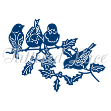 Tattered Lace Robins & Holly Dies D1303