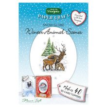Katy Sue Designs Winter Animal Scenes Flower Soft Book