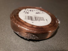"25 yd Satin Ribbon 5/8"" Cappuccino 25-yards RN0004-44"