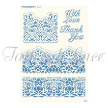 Parchment Lace Florentine Lace Parchement Grid
