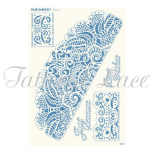 Parchment Lace Ultimate Lace Parchement Grid