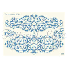 Parchment Lace Laura Parchement Grid