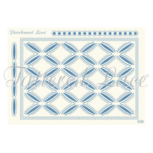 Parchment Lace Esme Parchement Grid