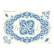 Parchment Lace Luna Parchement Grid