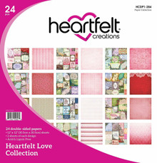 Heartfelt Creations Heartfelt Love Collection 12x12 DS Paper Pack