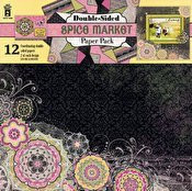 HOTP Spice Market Double-Sided Paper Pack 12x12 12-Coordinating Papers