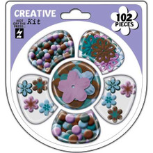 Hot off the Press Cardmaker's Creative Kits-Earth's Palette
