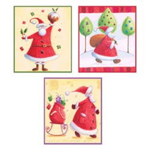 Craft Uk Creative Christmas Window Decoupage -Santa