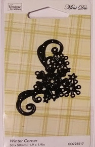 Couture Creations Winter Corner Cutting Die