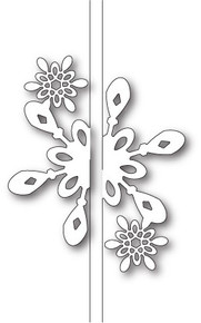 Memory Box Bright Snowflake Closer Craft Die Set 99586